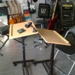 Ergonomiczne stoliki dla  uczniów.